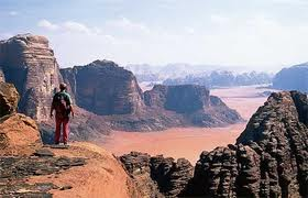 Wadi Rum Desert From Aqaba Port, Moon Valley In Jordan