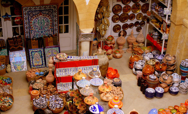Tunis Village Pottery Festival Tour